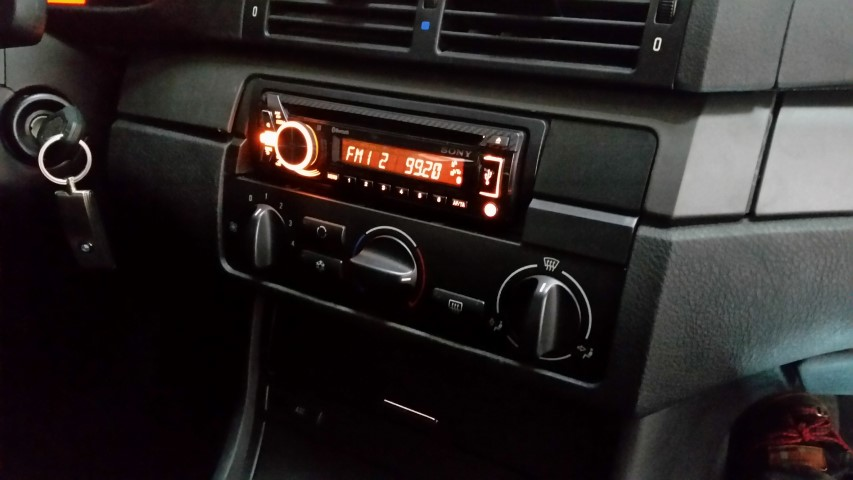 ME-Speedshop E46 BMW Subwoofer Cyclone Sony USB Radio Update