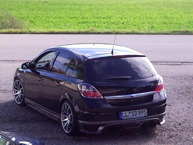 ME-Speedshop Astra H Bodykit Hifi Ausbau