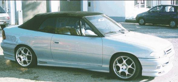 ME-Speedshop Astra F Cabrio Wird gesucht wurde uns GESTOHLEN !