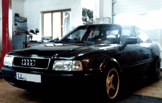 ME-Speedshop Audi 80 Auspuff Fahrwerk Lautsprecher Radio