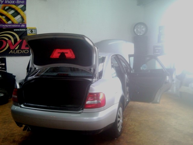 ME-Speedshop Audi A4 Doorboards