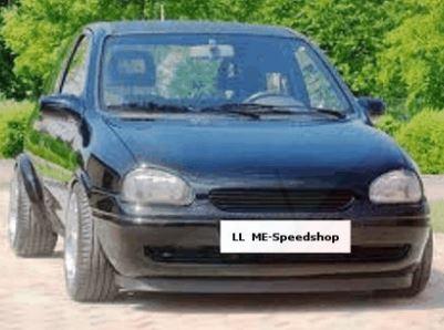 ME-Speedshop Corsa B Frontsystem Subwoofer