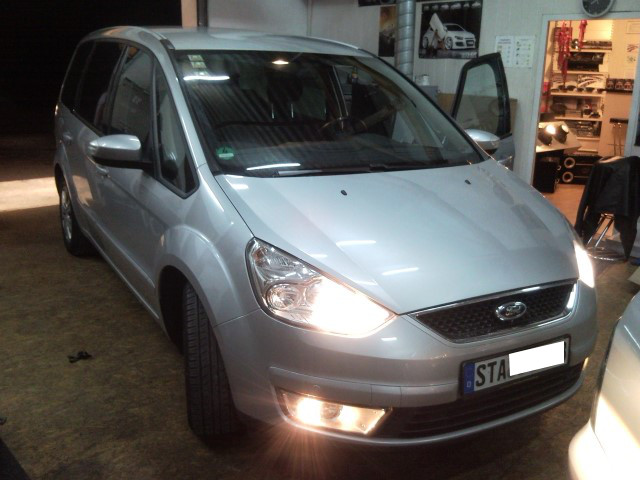 ME-Speedshop Ford Galaxy Car Hifi