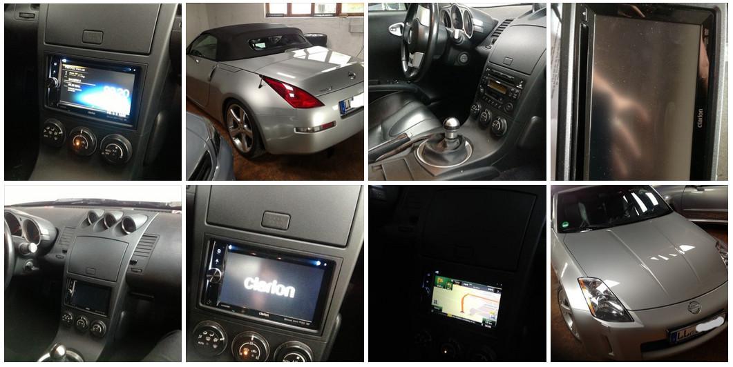 Nissan 350z Calrion Doppel Din