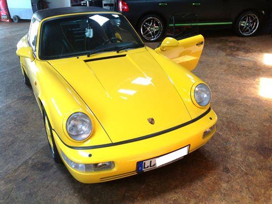 ME-Speedshop Porsche 964 Lautsprecher