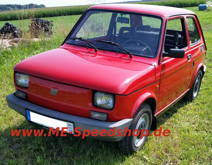 ME-Speedshop Fiat 126 Maluch Autoradio