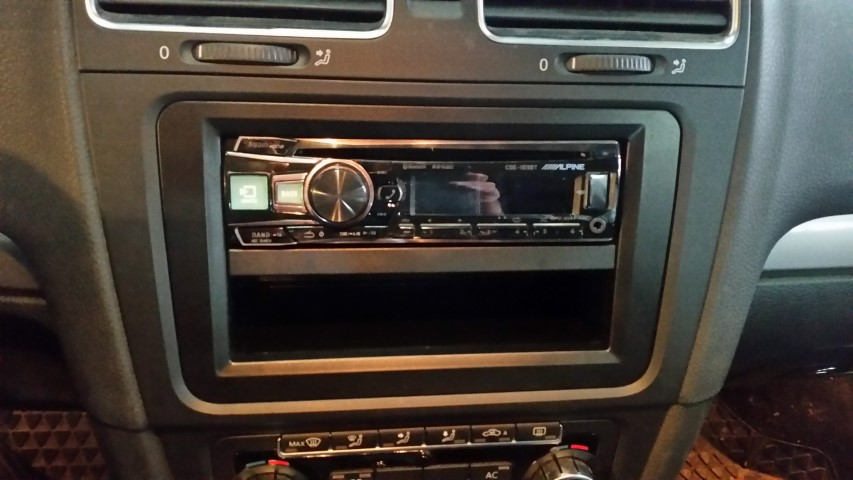 Golf 6 Rainbow Lautsprecher Alpine Radio