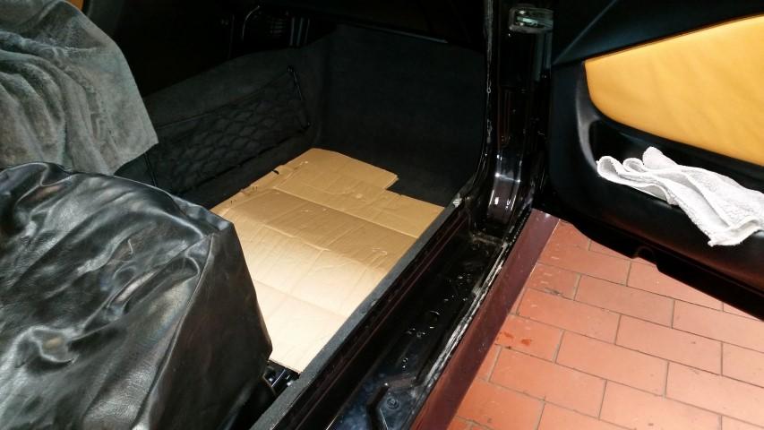BMW Z3 Coupe Subwoofer Lautsprecher