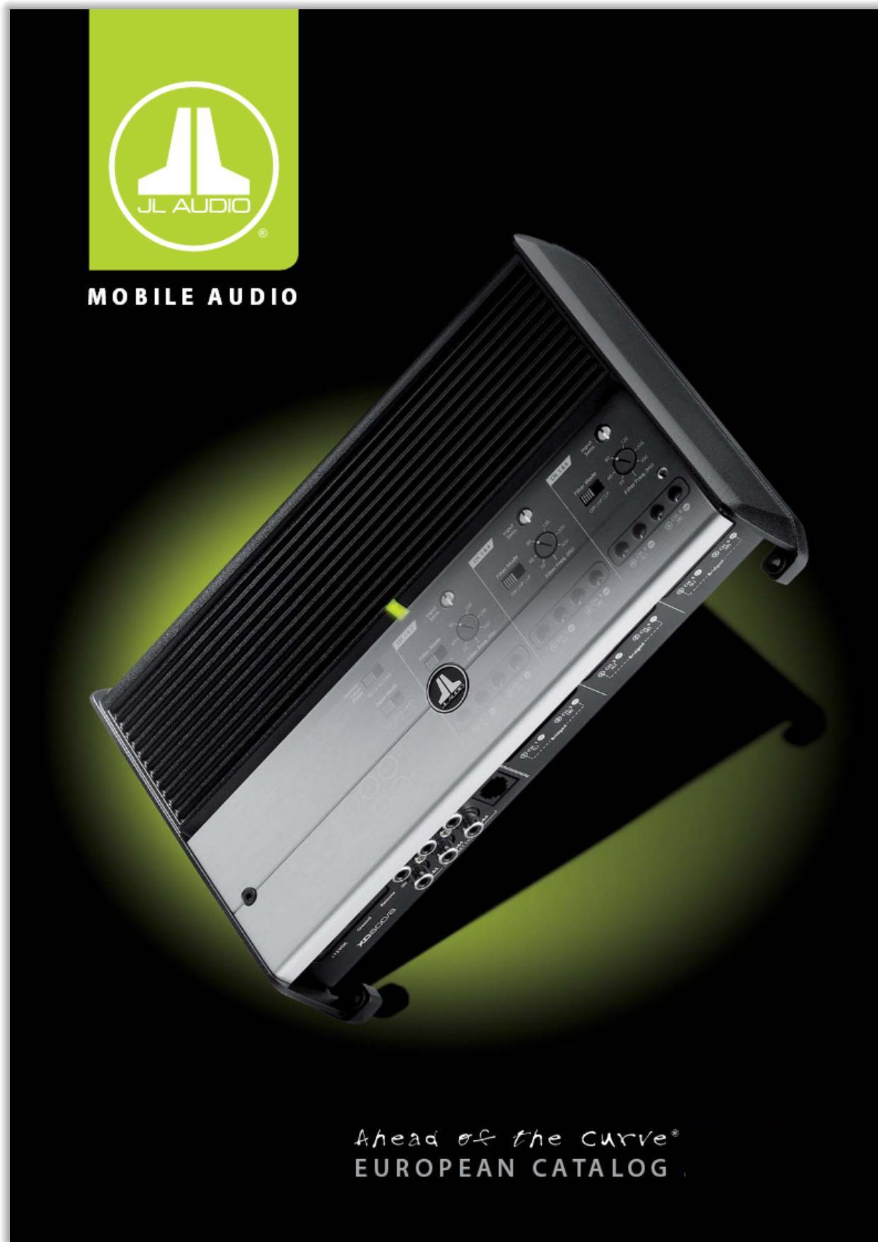 JL Audio Katalog