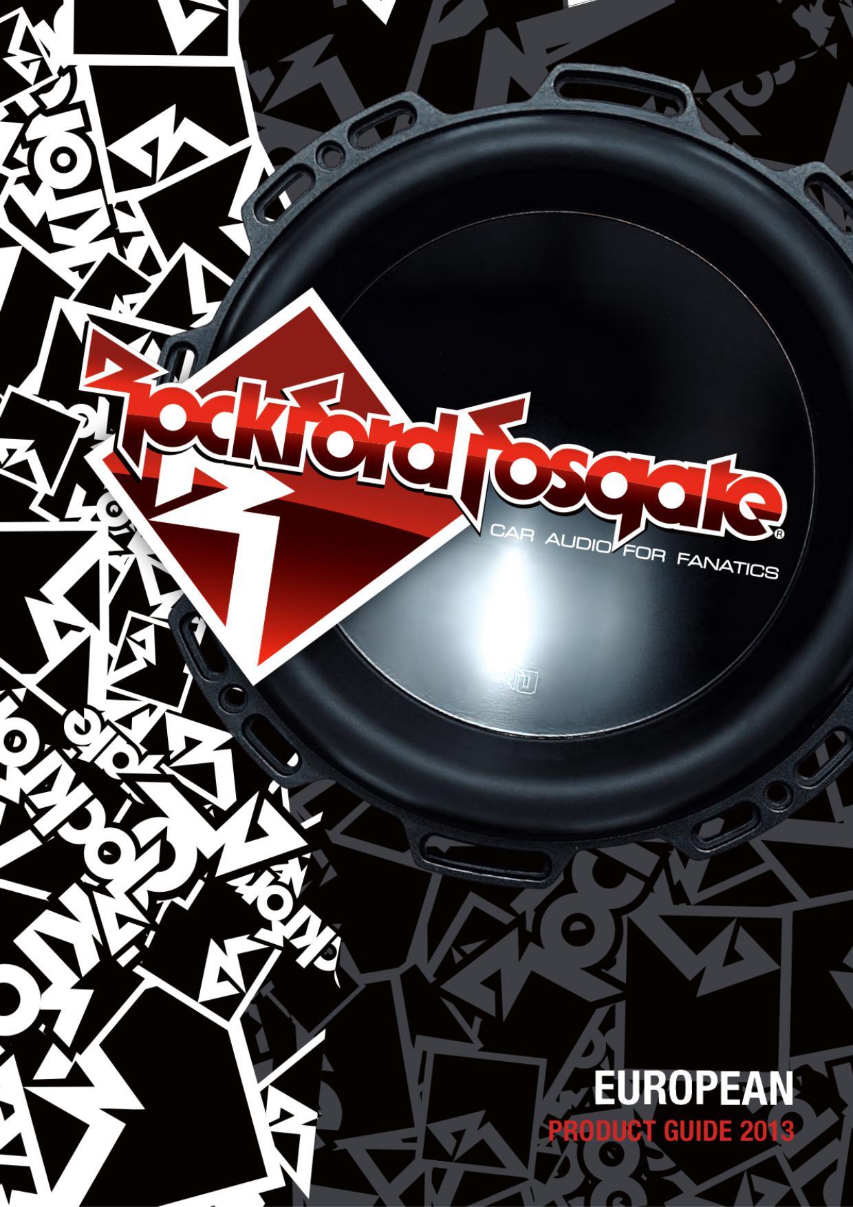 rockford Fosgate  Car Hifi Lautsprecher Katalalog