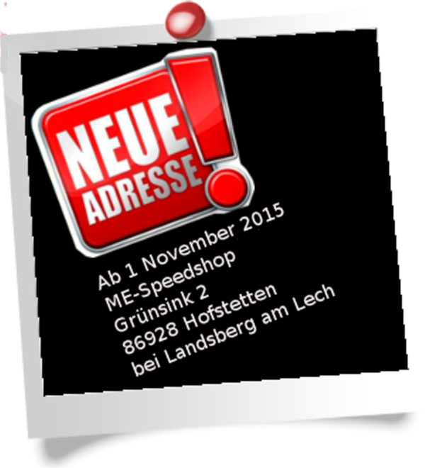 NEUE ADRESSE / Strasse